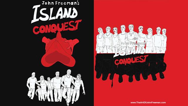 cubierta JohnFreemanBl&Wh island conqueste juan bello crodfunding editorila canarias