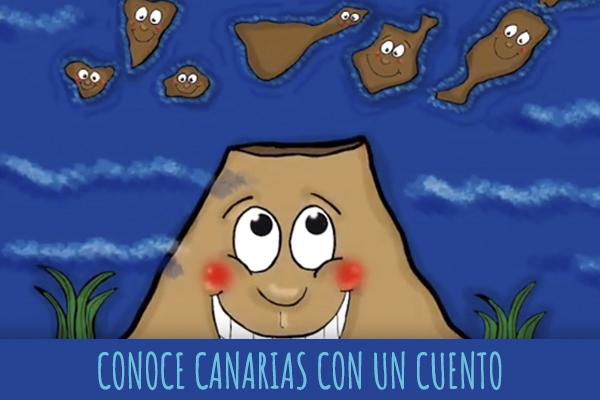 Cabecera Conoce Canarias con un cuento